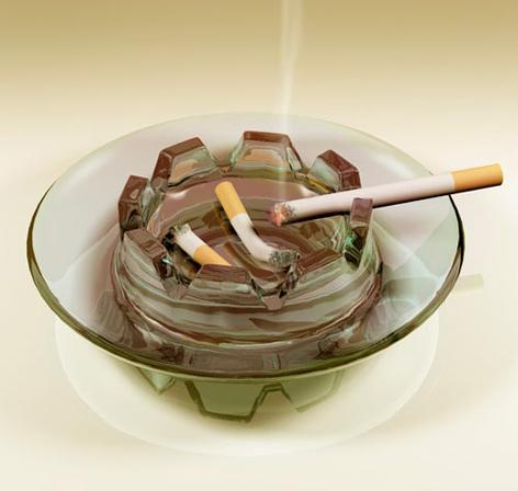 YACHT ashtray