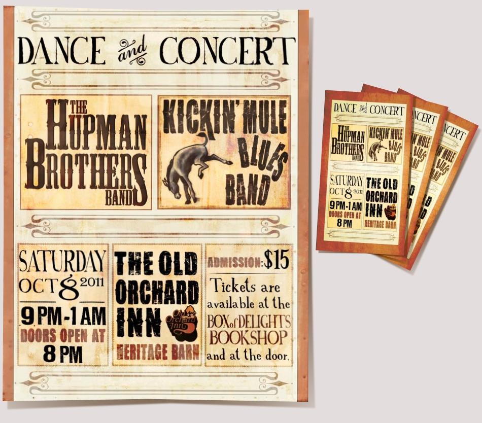 Kickin' Mule Poster & Tickets
