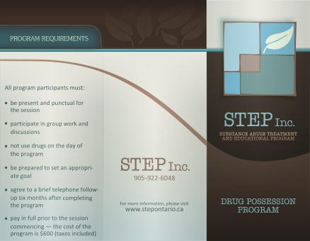 STEP Brochure Outside