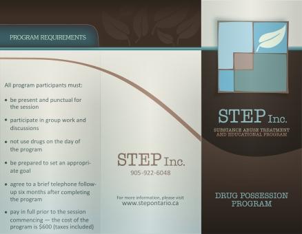 STEP Brochure Outside